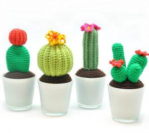 Cactus amigurumi - free pattern - Airali | 268x300